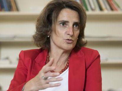 La ministra para la Transición Ecológica sostiene que  algo extraordinario, como los trasvases, no se puede convertir en ordinario