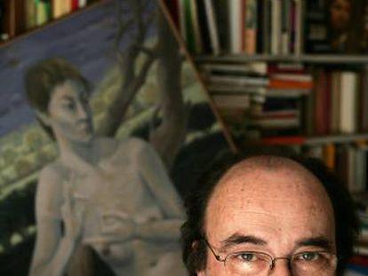 Francisco Calvo Serraller, retratado en 2005.
