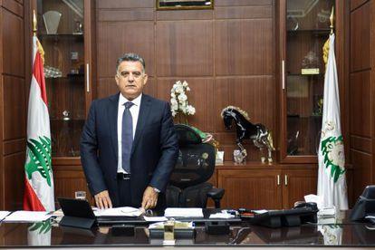 Abbas Ibrahim, jefe de la inteligencia libanesa.