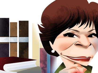 Isabel Allende, por Luis Grañena.