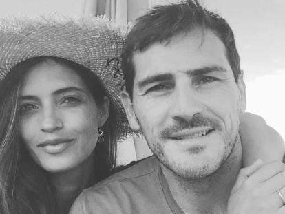 Sara carbonero e Iker Casillas, en una imagen publicada en su instagram.