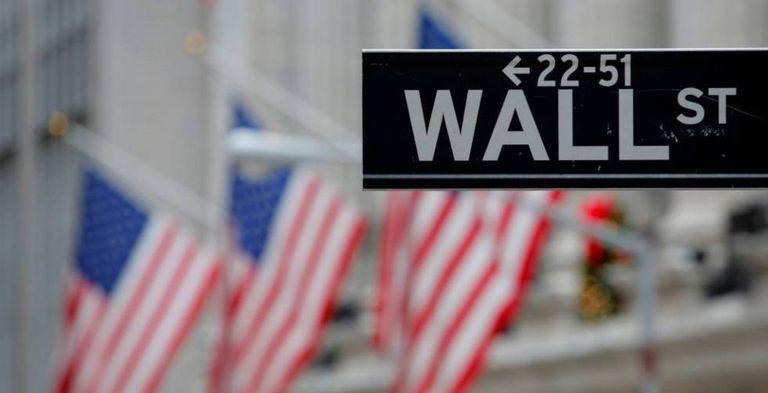 Cartel de la calle Wall Street, en Nueva York.