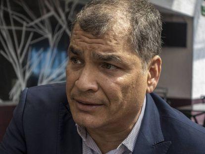 Rafael Correa, el miércoles pasado en Ciudad de México.