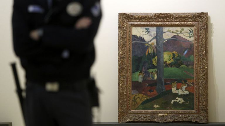 'Mata Mua', de Paul Gauguin.