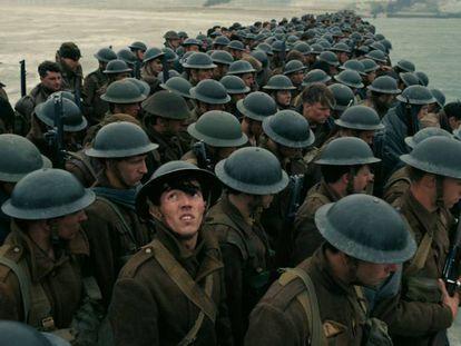 Fotograma de 'Dunkerque' de Christopher Nolan