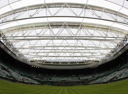 La pista central de Wimbledon.