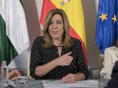 La presidenta andaluza, Susana Díaz, en una imagen de archivo.