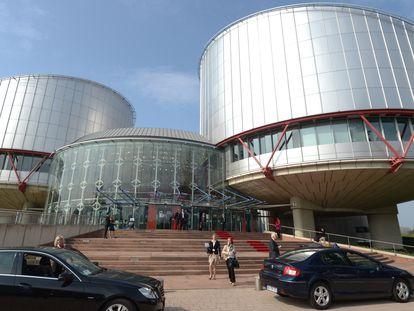 Vista de la Corte Europea de Derechos Humanos.
