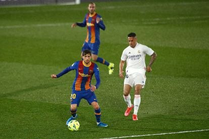 Madrid-Barcelona derby played on April 10.