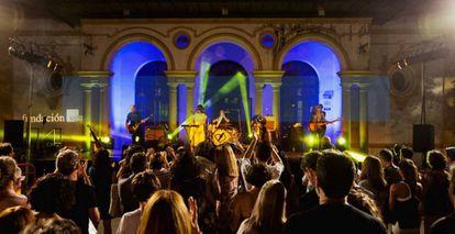 Imágenes de los conciertos del Nocturama.