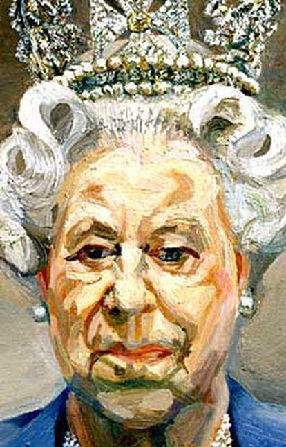 La reina Isabel II de Inglaterra, según el pintor Lucian Freud.