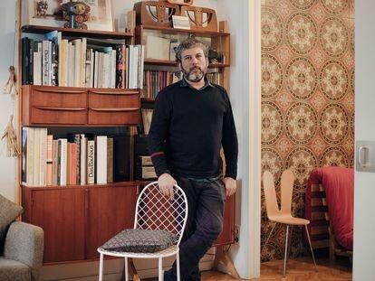 El arquitecto Moisés Puente acaba de publicar 'Cháchara y otros relatos de arquitectura'. |