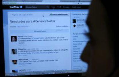 Campaña contra la censura de Twitter.