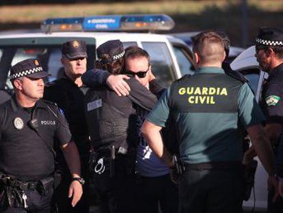 El arrestado, de 40 años y con antecedentes, arrebató la pistola reglamentaria al agente y le disparó con ella.