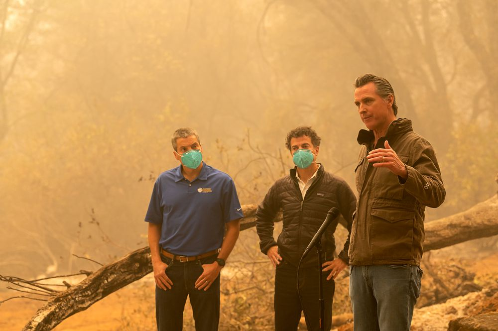 La ola de incendios mete el cambio climático en la campaña de Estados Unidos