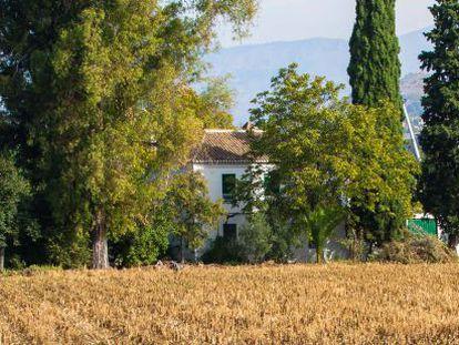 La Huerta del Tamarit, uno de los lugares lorquianos.