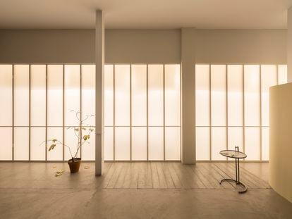 Un detalle de la exposición 'L'Invitation Au Voyage', la exposición de Álvaro Urbano en Travesía Cuatro.