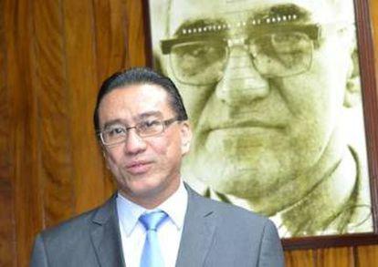 El abogado querellante David Morales