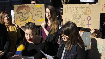 Concentración, el 11 de febrero, en la Universidad de Granada por la liberación de Patrick Zaki.