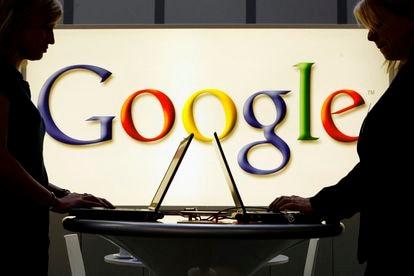 Representación de Google en una feria industrial en Hannover (Alemania), en abril de 2017.