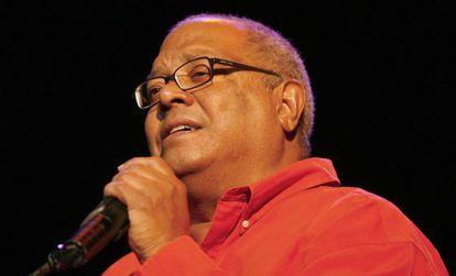 El cantautor cubano Pablo Milanés durante un concierto en Burgos, el 16 de octubre de 2015.