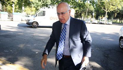 Josep Maria Duran i Lleida entra en la sede de Unió.