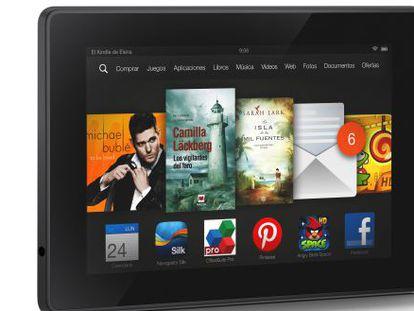 Amazon lanza en España sus nuevas tabletas HDX