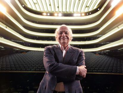Lorin Maazel, en el Palau de les Arts de Valencia, de cuya orquesta asumió la dirección en 2006.