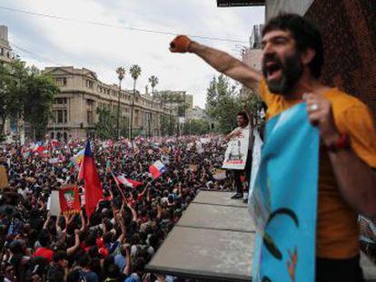 La participación, elevada para una ciudad de siete millones de habitantes, convirtió la concentración en la mayor que se haya registrado en el país sudamericano desde el retorno a la democracia en 1990