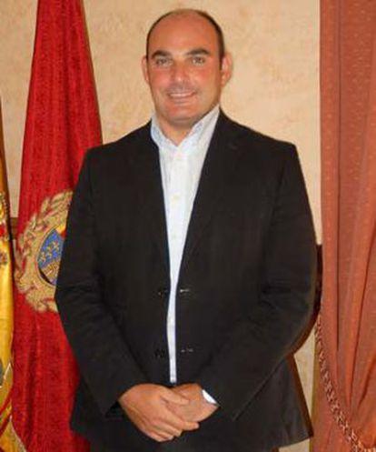 El alcalde de Alcañiz, Juan Carlos Gracia.