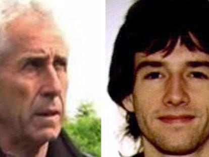 Los detenidos Jokim Aranalde y Beñat Atorrasagasti.