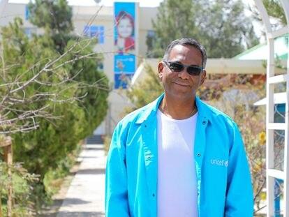 David Hervé Ludovic de Lys en Kabul, en una imagen reciente cedida por Unicef.