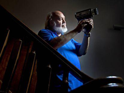 10-7-09 Jose Luis Cuerda, director de cine. foto: santi burgos