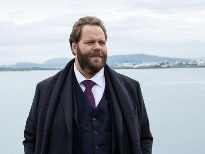 Ólafur Darri Ólafsson, protagonista de 'The Minister'.
