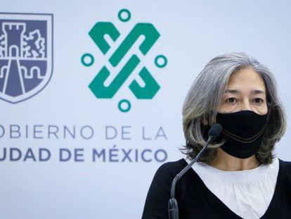 Florencia Serranía, directora de metro de Ciudad de México durante el Gobierno de Sheinbaum, en febrero.