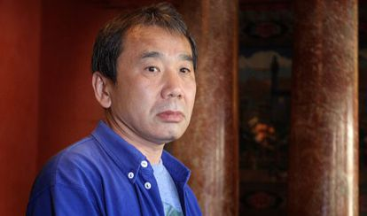 El escritor japonés Haruki Murakami en la Casa Asia de Barcelona en 2009