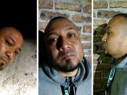 """AME5891. GUANAJUATO (MÉXICO), 02/08/2020.- Combo de fotografías cedidas por la Fiscalía de Justicia del estado de Guanajuato, fechada hoy domingo, que muestra la detención de José Antonio Yépez, alías 'el Marro' por parte de fuerzas federales en el estado de Guanajuato (México). José Antonio Yépez, alías 'el Marro' y líder del Cartel Santa Rosa de Lima, fue detenido por las fuerzas de seguridad mexicanas en el céntrico estado de Guanajuato, informó este domingo el secretario de Seguridad y Protección Ciudadana del Gobierno de México, Alfonso Durazo. """"Hoy en la madrugada, en una acción encabezada por el Ejército mexicano y apoyada por la Fiscalía General del Estado de Guanajuato fue detenido José Antonio """"N"""", también conocido como 'el Marro'. En este momento se encuentra a disposición de la autoridad judicial local"""", detalló el encargado de seguridad federal en un mensaje en Twitter. EFE/Fiscalía de Justicia del estado de Guanajuato/SOLO USO EDITORIAL/NO VENTAS/MÁXIMA CALIDAD DISPONIBLE"""