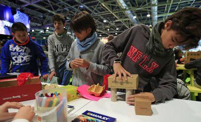 La Zona Verde es un espacio de participación ciudadana de la Feria de Madrid en la COP25.