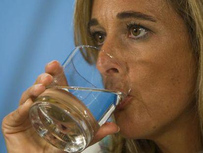 Cinta Castillo, en una imagen de su etapa como consejera.