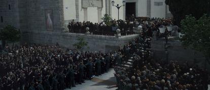 El funeral de las chicas de Alcàsser, en '75 días'.