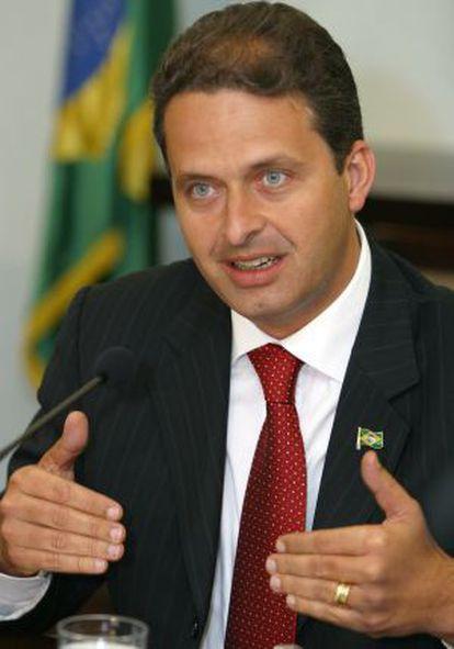 Eduardo Campos, cuando era ministro en 2004.