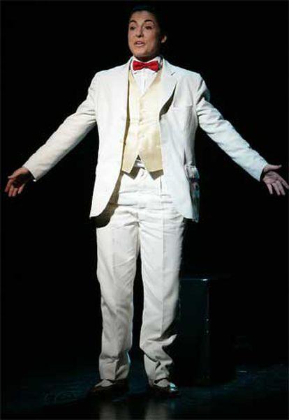 Momento de la representación de la obra <i>Lorca eran todos</i>, de Pepe Rubianes