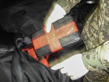 La Marina de México asegura un cargamento de cocaína (Archivo).