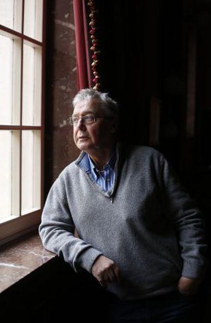 Graham Vick, in Madrid, in 2014.