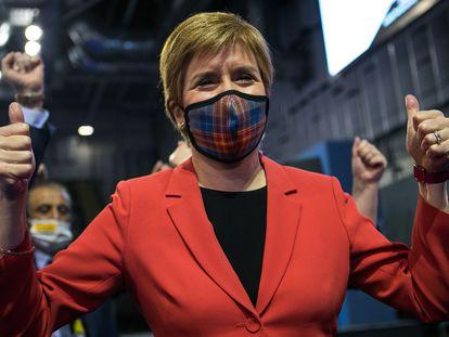 La ministra principal de Escocia y líder del SNP, Nicola Sturgeon.