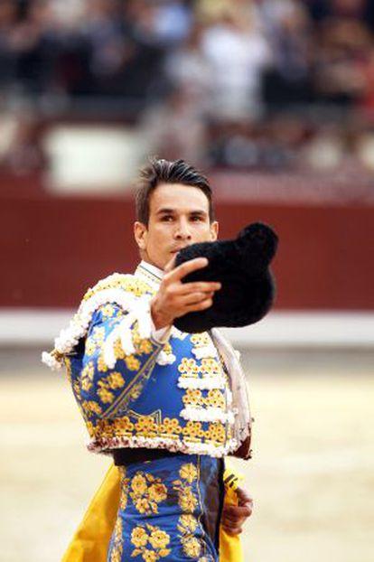 El torero José María Manzanares, el pasado mayo en la madrileña Feria de San Isidro.
