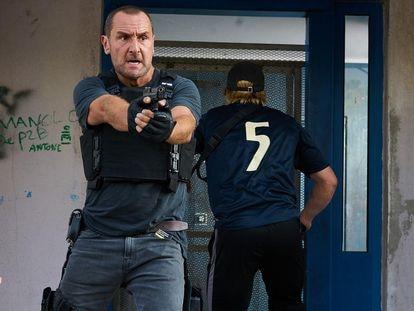 Una imagen de la película 'BAC Nord: Brigada de Investigación Criminal'.