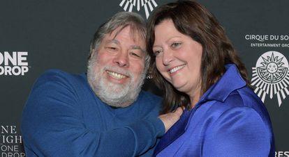 Steve Wozniak y Janet Hill