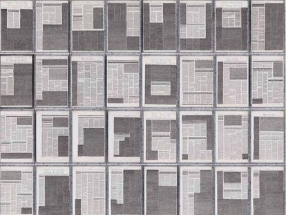 'Seguimiento de una noticia' (1977), de Concha Jerez.