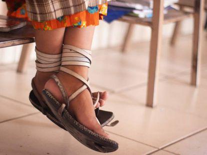 En la sierra de Chihuahua, en México, 96 niñas rarámuri viven en el tewecado, su escuela.